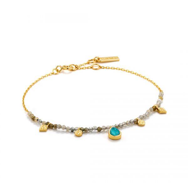 Turquoise Labradorite Bracelet
