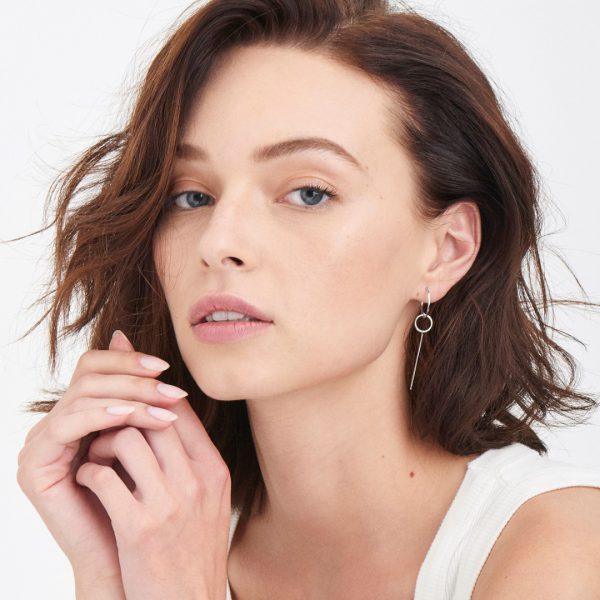 Modern Solid Drop Earrings