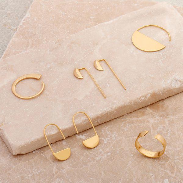 Geometry Hoop Earrings