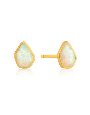 Opal Colour - Stud Earrings