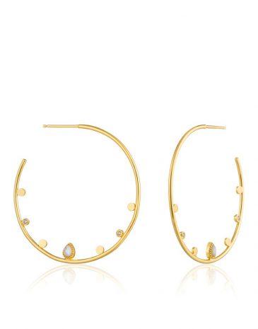 Dream Open Hoop Earrings