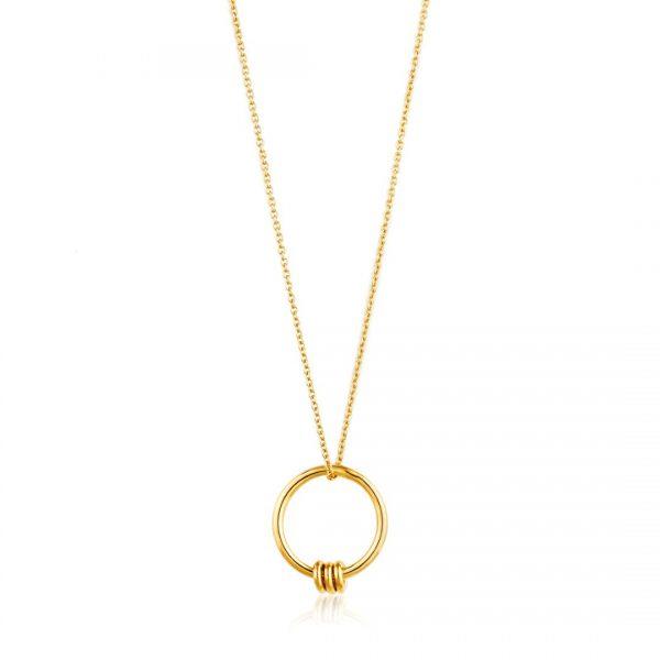 Modern Circle Necklace