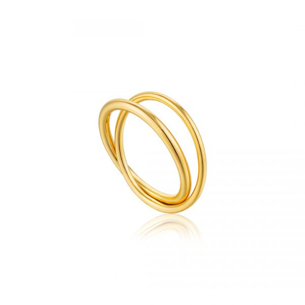 Modern Double Wrap Ring