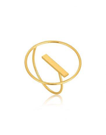 Modern Circle Ring