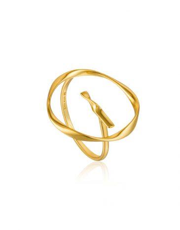Twist Circle Ring