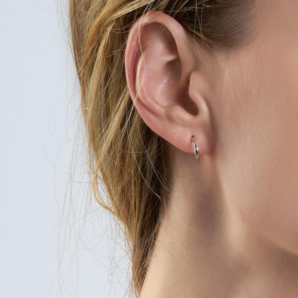 Twist Mini Hoop Earrings