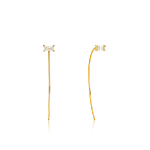 Glow Solid Drop Earrings