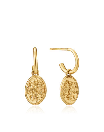 Nika mini hoop earrings