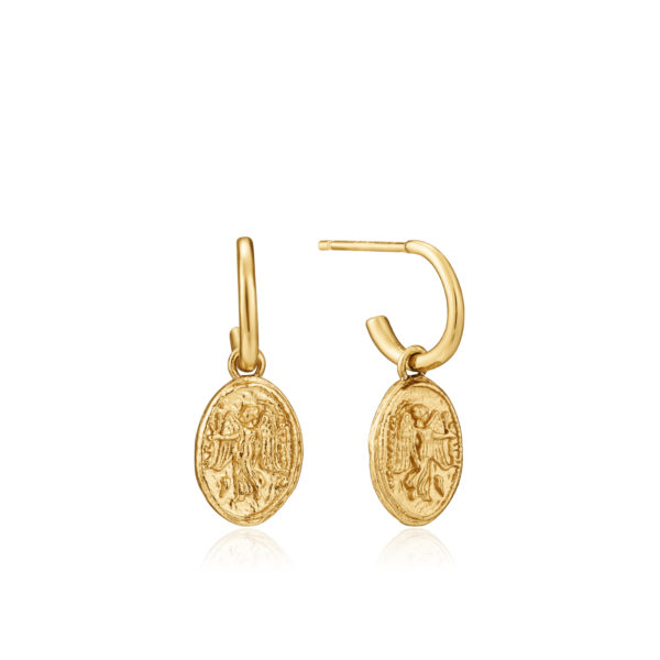 Nika mini hoop earrings