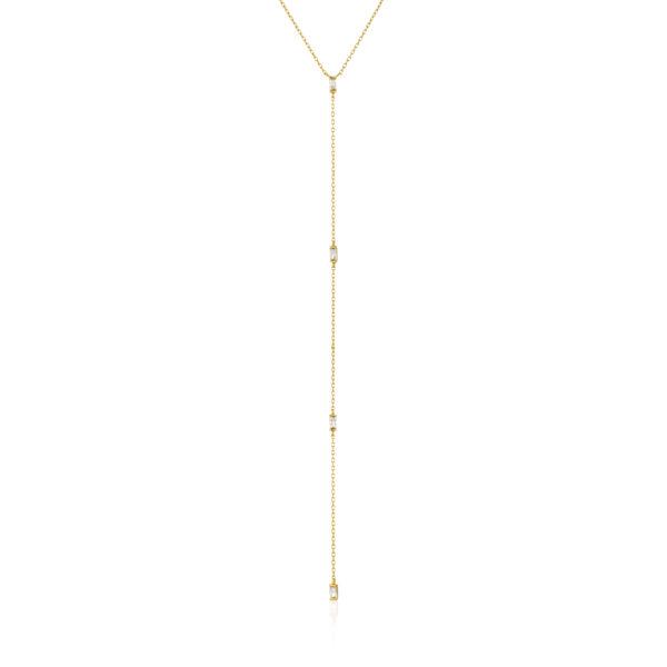 Glow Y Necklace