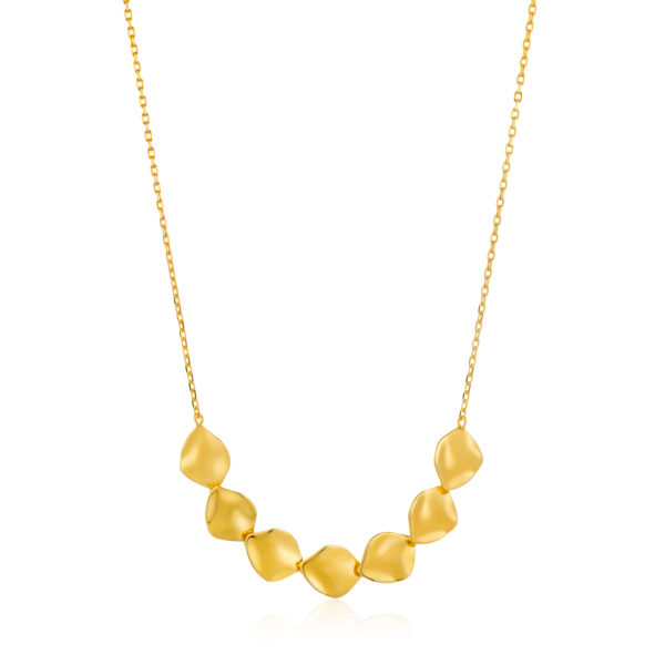 Crush Multiple Disc Necklace