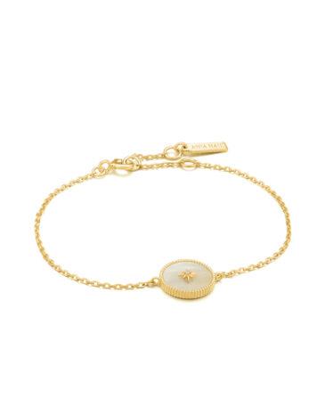 Mother of Pearl Emblem Bracelet