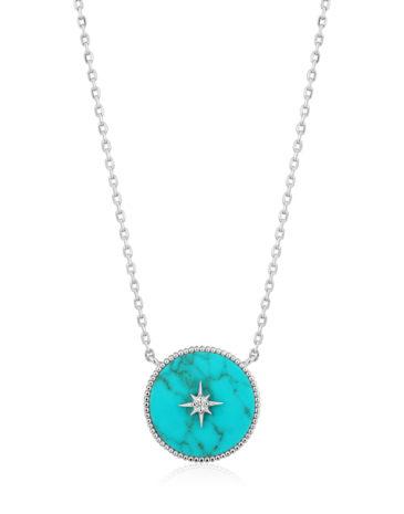 Turquiose Emblem Necklace