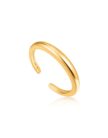 Luxe Band Adjustable Ring