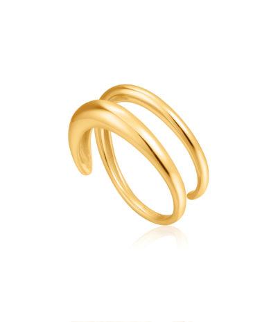 Luxe Twist Adjustable Ring