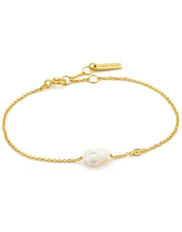 Pearl Bracelet Goud