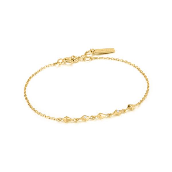 Spike Bracelet goud
