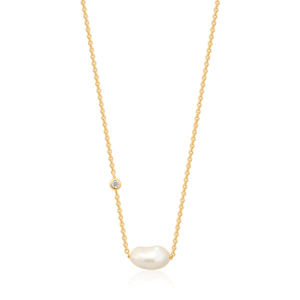 Pearl Necklace goud