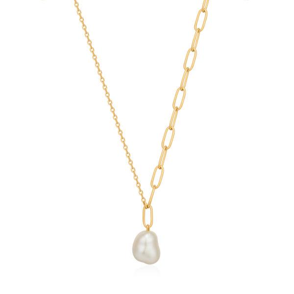 Pearl Chunky necklace Ania Haie