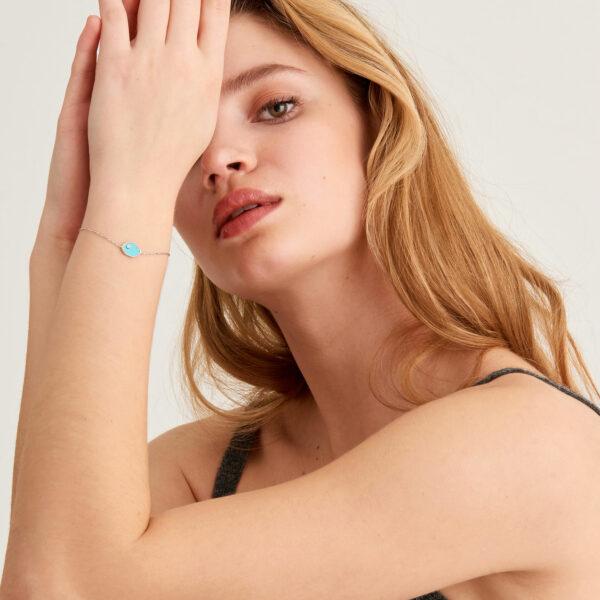 Tidal Turquoise Bracelet