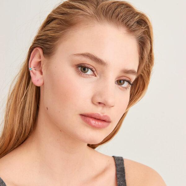 Tidal Turquoise Ear Cuff