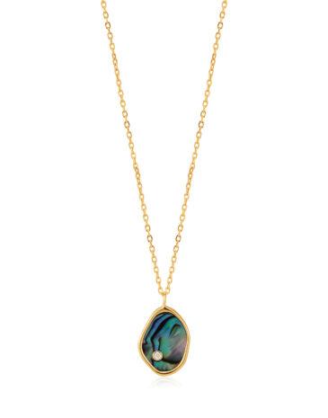 Tidal Abalone Necklace