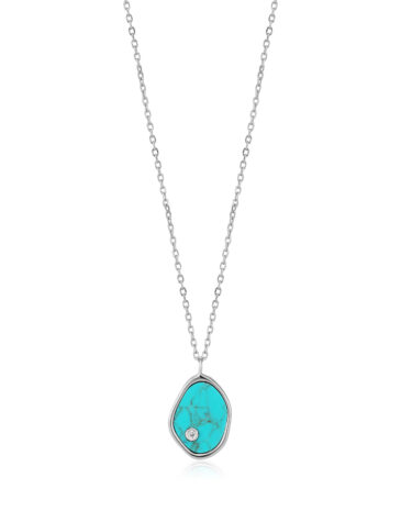 Tidal Turquoise Necklace